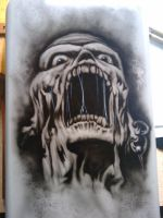 Zombie... by TopHatPainter