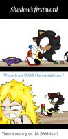 Shadow's first word by Nameless0404
