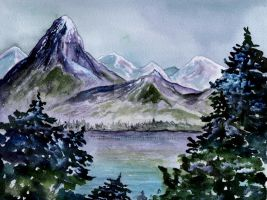 A Mountain Melody by aragonia