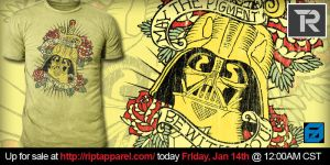 Vader Inked at RIPT Apparel by freeagent08