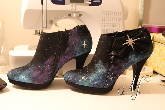 Galaxy Heels by SunsetSovereign