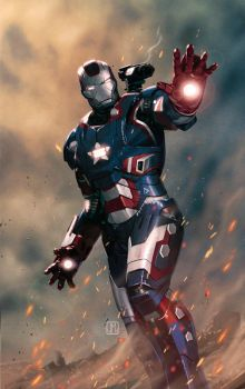 Iron Patriot by ZurdoM