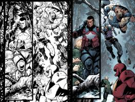 Marvel Zombies Destroy 4.14 with lineart by GarryHenderson