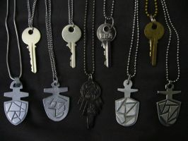 The Keys to Time and Space by Police-Box-Traveler