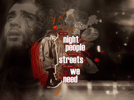 BLEND: Night people by ZaulaGraphics