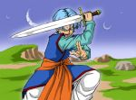 Dragonball Super - Trunks with Z Sword by Rider4Z