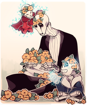 -undertale- Old Times by gigifeh