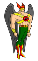 Hawkman via Hero Creator by Gwhitmore