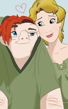 Quasi and Madellaine by brilliantbrunette222