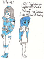 VT HVaAiSTFF - Mahina the Coronan and Polly-717 by Magic-Kristina-KW