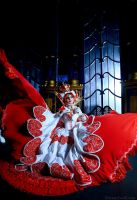 Trinity Blood: Rose wings by Astarohime