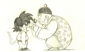 GOKU and his grandfathen by fairy-in-wonderland
