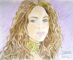 Request...celebrity slave girls...shakira by stavros1972