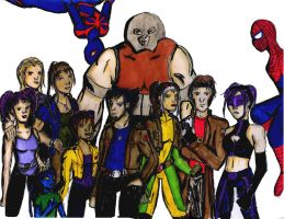 X-men group by Kamico