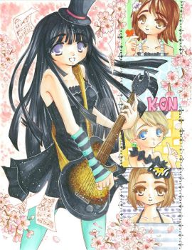 K-ON :: Music is Love by rin-go