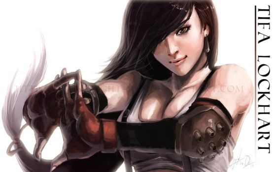 Tifa Lockhart II by Overweight-Cat
