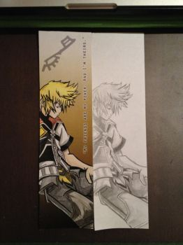 Ventus Bookmark by SyncTempest27
