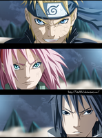 Naruto 632: Team 7 by AllanWade