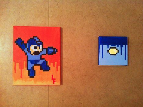Megaman by CemeteryDrive87