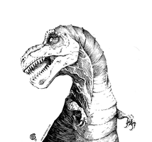 A kind of T-Rex by BenBASSO