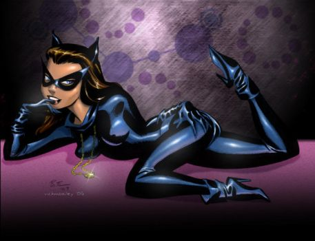 Timm's Catwoman by richmbailey