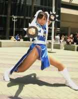 Chun-Li cosplay by Lexy at AM2 2012 by LexLexy