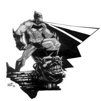 Batman 01 by BLACKBULLSEYE
