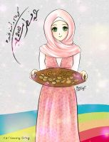Happy Eid by LOVE--WING