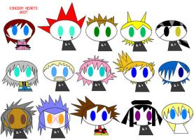 KINGDOM HEARTS- paint style. by heroic-moose