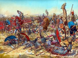Battle of Nisibus 217 AD by Fall3NAiRBoRnE