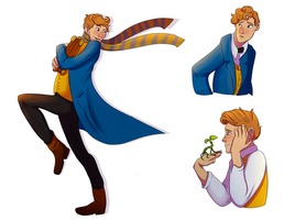 Newt by StormWhiskers