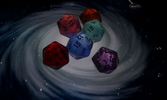 D20's on the Morphwiz by peopleface