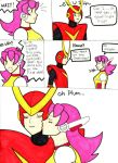 Quick and Plum one shot comic by Angel-Die