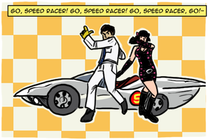 Ali Dee And The Deekompressors - Go Speed Racer Go Lyrics