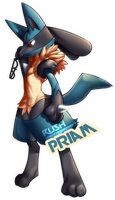 Pokemon Commission: Priam by Galactic-Rush