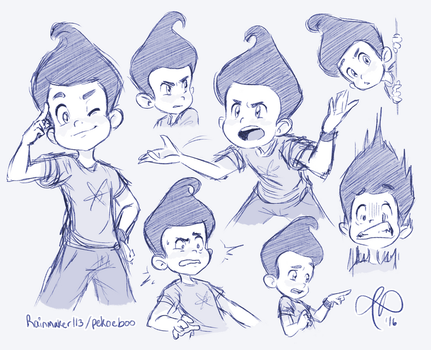 Jim expressions by Rainmaker113