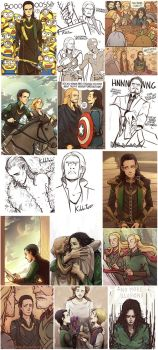 Avengers collection by Kibbitzer