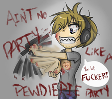 Pewdiepie Party! by MischiefJoKeR