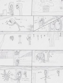 Until the End page 3 (UNCOLORED) by Qille