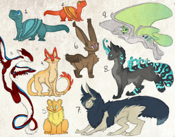 Point Adoptables (CLOSED) by theperfecta