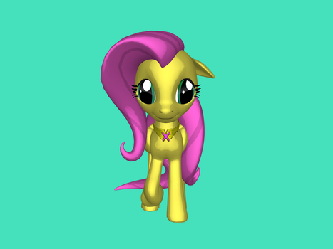 Fluttershy by pegasister-abby
